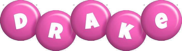 Drake candy-pink logo