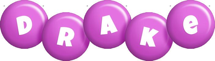 Drake candy-purple logo