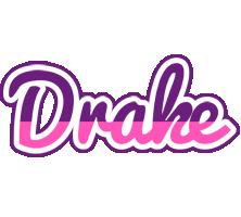 Drake cheerful logo