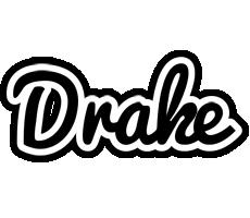 Drake chess logo