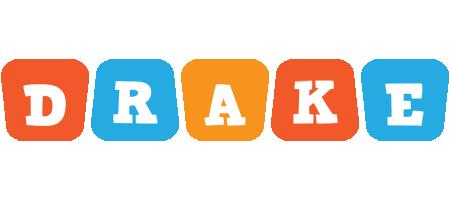 Drake comics logo