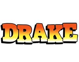 Drake sunset logo