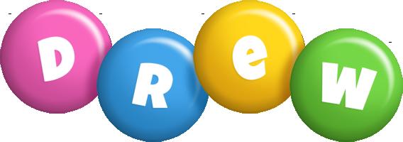 Drew candy logo
