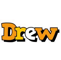 Drew cartoon logo