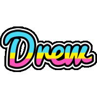 Drew circus logo