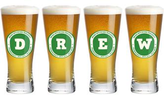 Drew lager logo