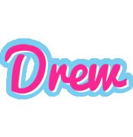 Drew popstar logo
