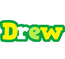 Drew soccer logo