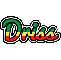 Driss african logo