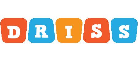 Driss comics logo