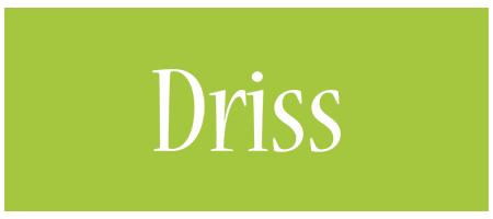 Driss family logo
