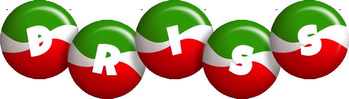 Driss italy logo