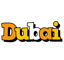 Dubai cartoon logo