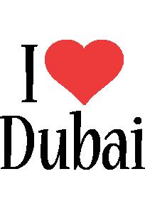 Dubai i-love logo