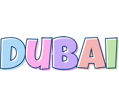 Dubai pastel logo