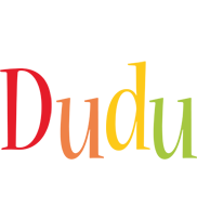 Dudu birthday logo