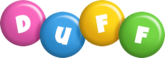 Duff candy logo