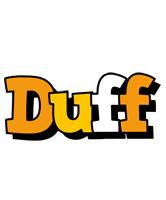 Duff cartoon logo