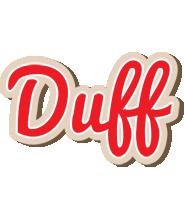 Duff chocolate logo