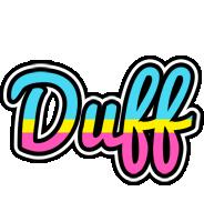 Duff circus logo