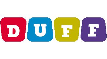 Duff daycare logo