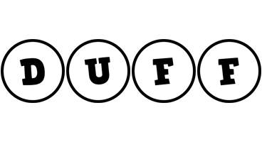 Duff handy logo