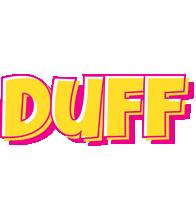 Duff kaboom logo