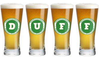 Duff lager logo
