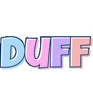 Duff pastel logo