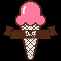 Duff premium logo