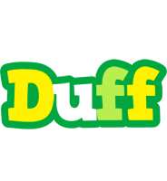 Duff soccer logo