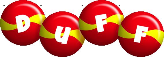 Duff spain logo