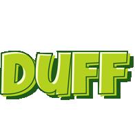Duff summer logo