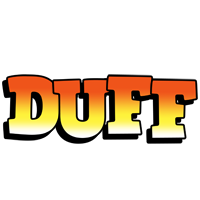 Duff sunset logo