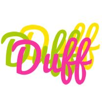 Duff sweets logo