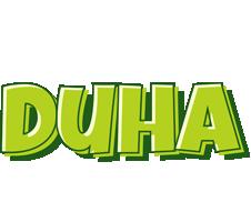 Duha summer logo