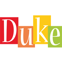 Duke colors logo