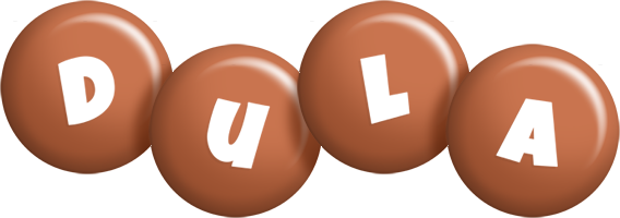 Dula candy-brown logo