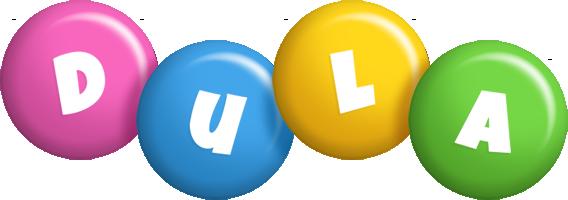 Dula candy logo