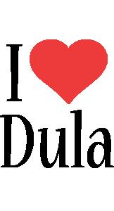 Dula i-love logo
