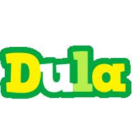 Dula soccer logo