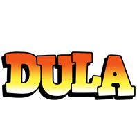 Dula sunset logo