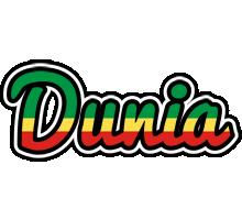 Dunia african logo