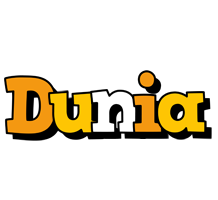Dunia cartoon logo