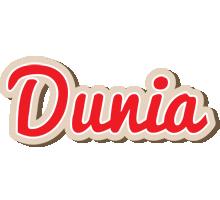 Dunia chocolate logo