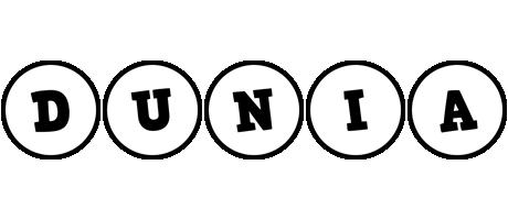 Dunia handy logo