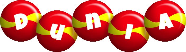 Dunia spain logo