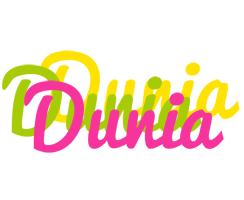 Dunia sweets logo