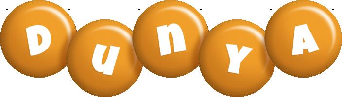 Dunya candy-orange logo