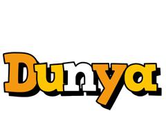 Dunya cartoon logo